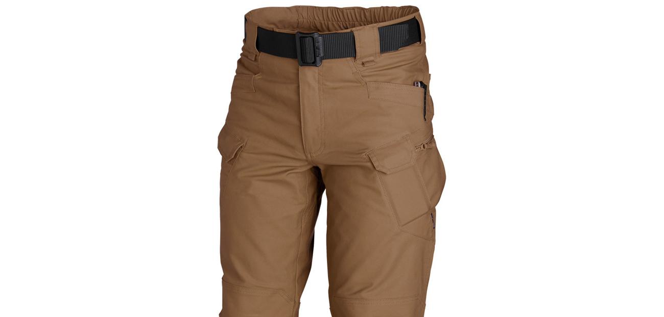 Spodnie Helikon UTP PolyCotton Ripstop Mud Brown kieszenie