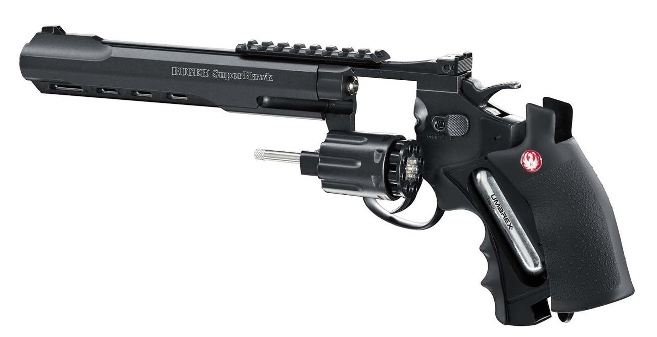 Airsoft Rewolwer Ruger SuperHawk 8 cali