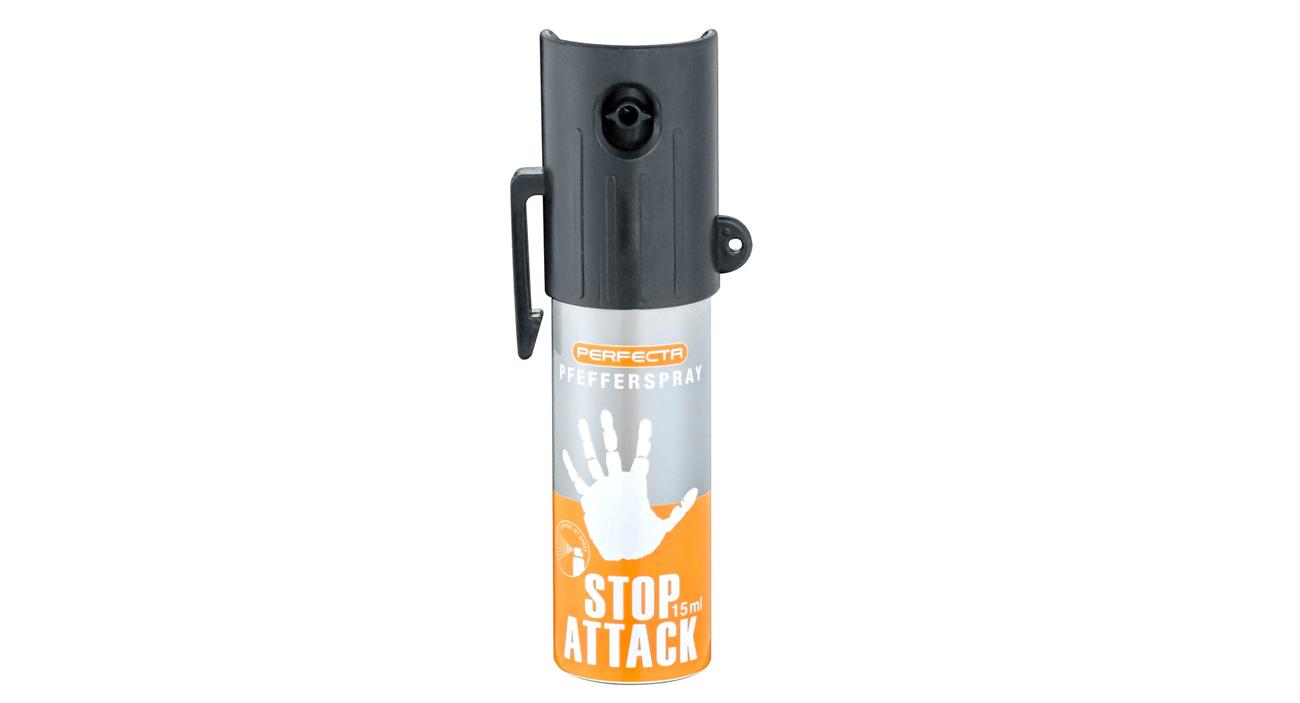 Gaz pieprzowy Umarex Perfecta Stop Attack - stożek 15 ml