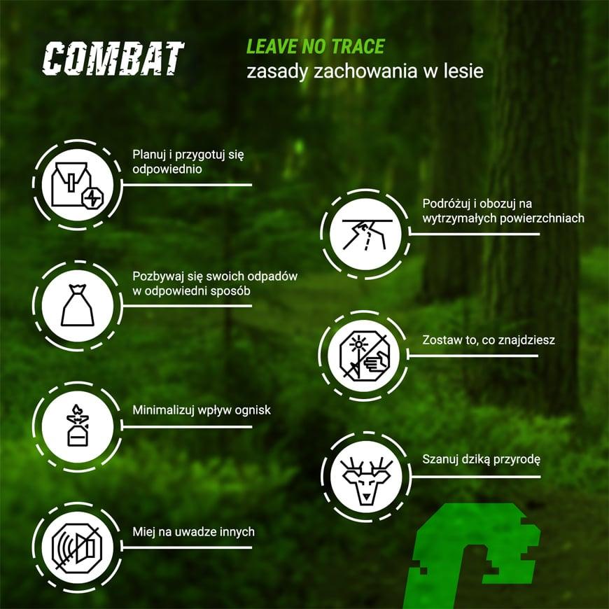 siedem zasad leave no trace - Jak zachowywać się w lesie obrazek