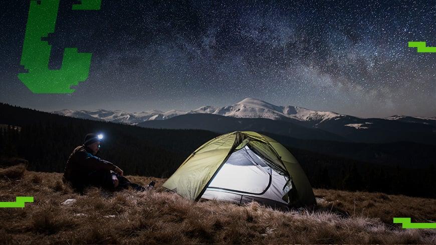 opcjonalny ekwipunek pod namiot