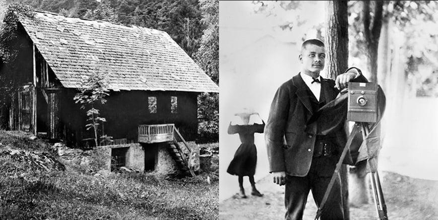 pierwszy warsztat oraz Joseph Opinel