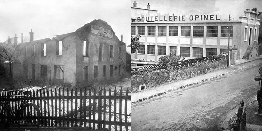 stara i nowa fabryka w Chambery