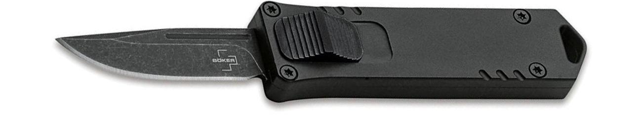 Nóż sprężynowy Boker Plus OTF USA USB