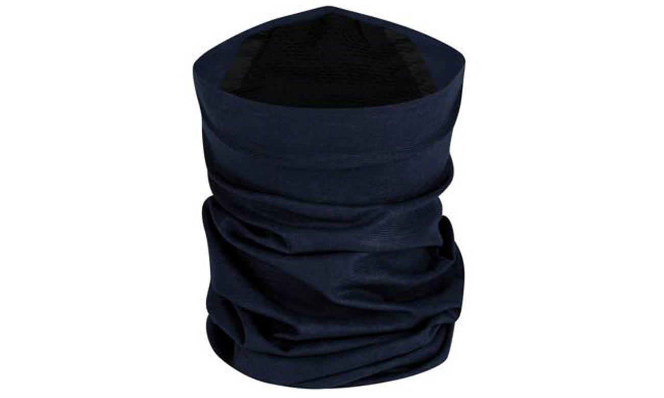 Chusta Buff z filtrem SOLID NIGHT BLUE M/L rzut
