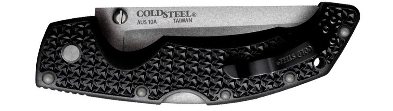 Nóż składany Cold Steel Voyager Large Tanto złożony