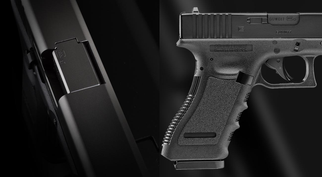 Glock 17 z boku