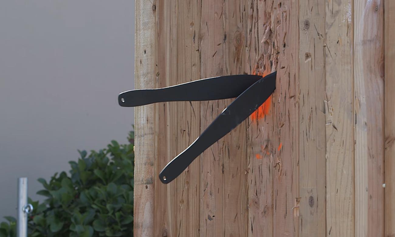 Nóż w desce Cold Steel Sure Flight Sport