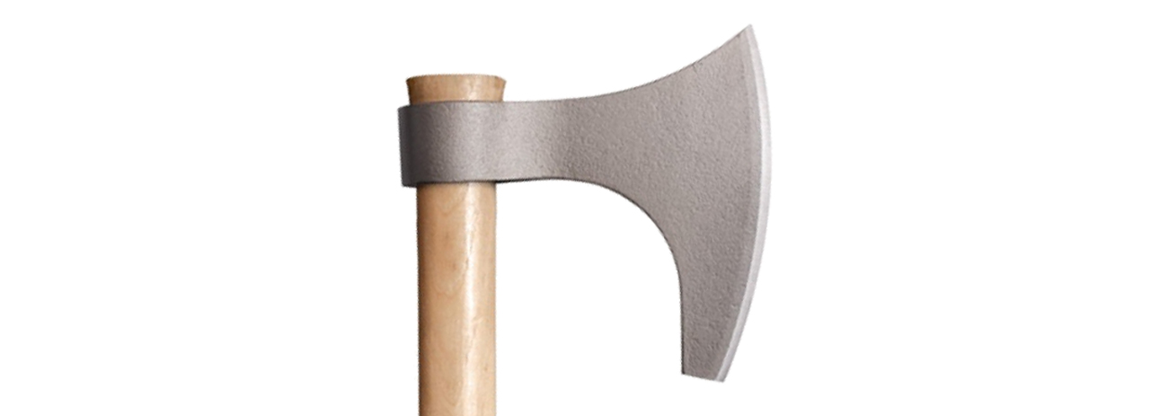 siekiera cold steel zblizenie na ostrze viking2