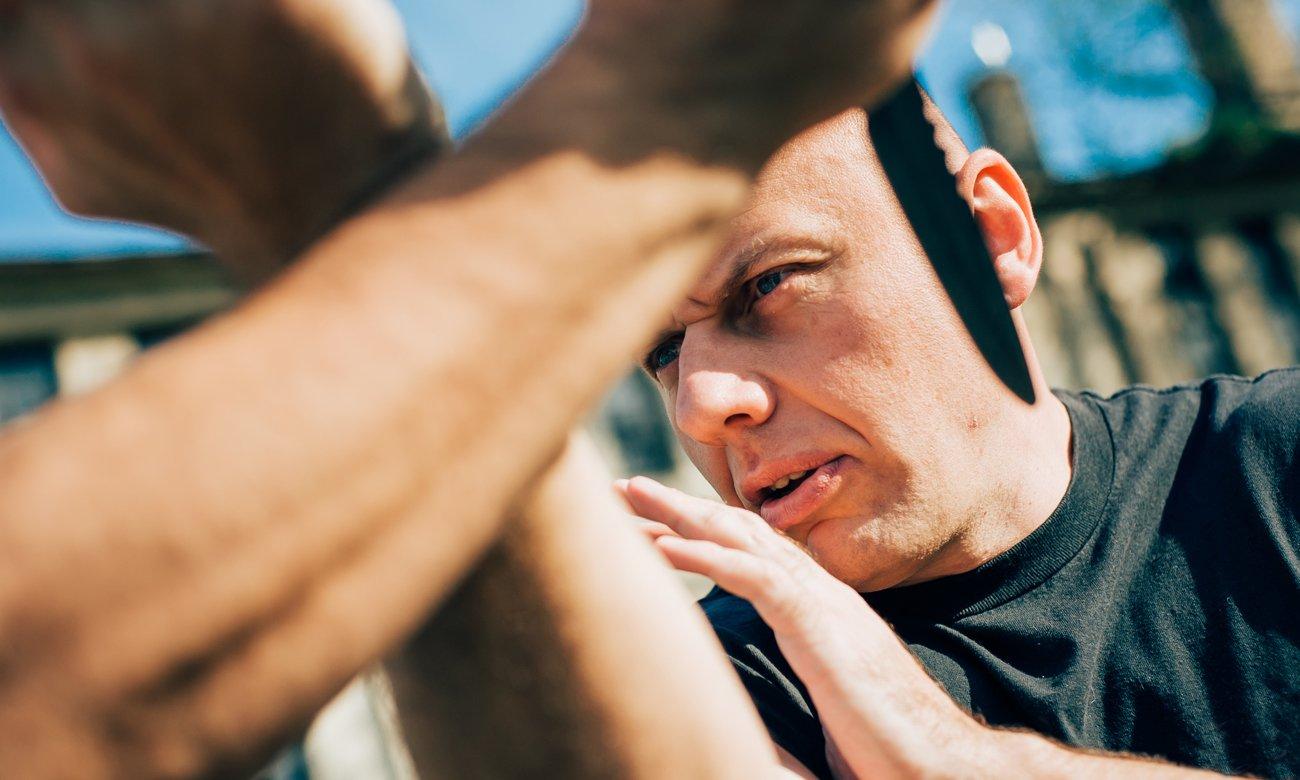 trening z nożem Cold Steel Leqatherneck S/F Trainer