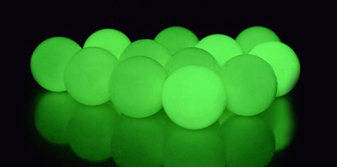 Kule Fluorescencyjne RAM Combat świecące w ciemności