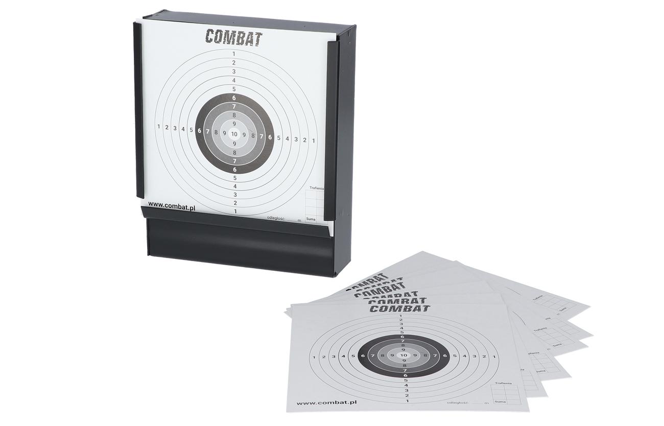 Kulochwyt stalowy Combat + tarcze 100 szt