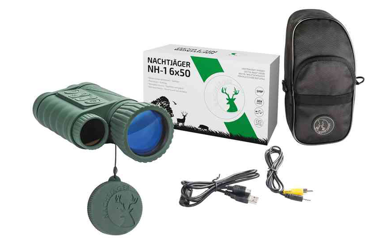 Zestaw z monokularem noktowizyjnym Nachtjäger NH-1 6x50