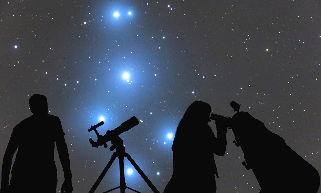 Nocna obserwacja nieba