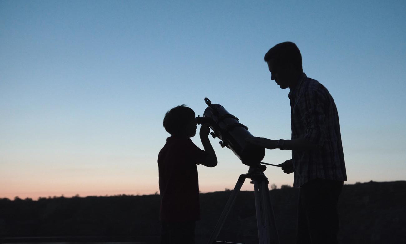 Rodzinne obserwacje kosmosu