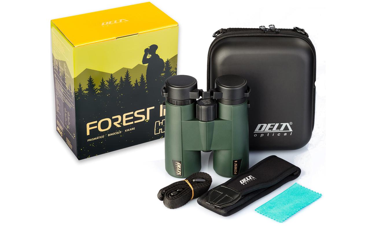 Lornetka Delta Optical Forest II 10x42 z zestawem akcesoriów