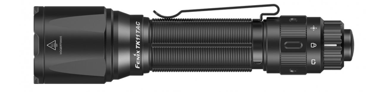Latarka diodowa Fenix TK11 TAC bok