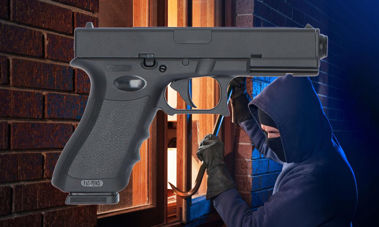 Ochrona przed włamaniem z pistoletem GD17