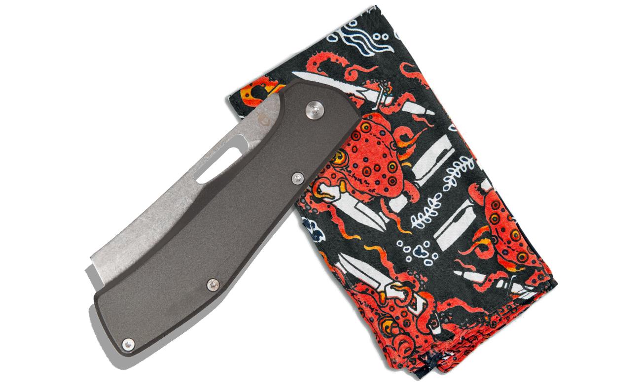 Nóż składany Gerber Gear Flatiron + bandana Gerber Gear Rag