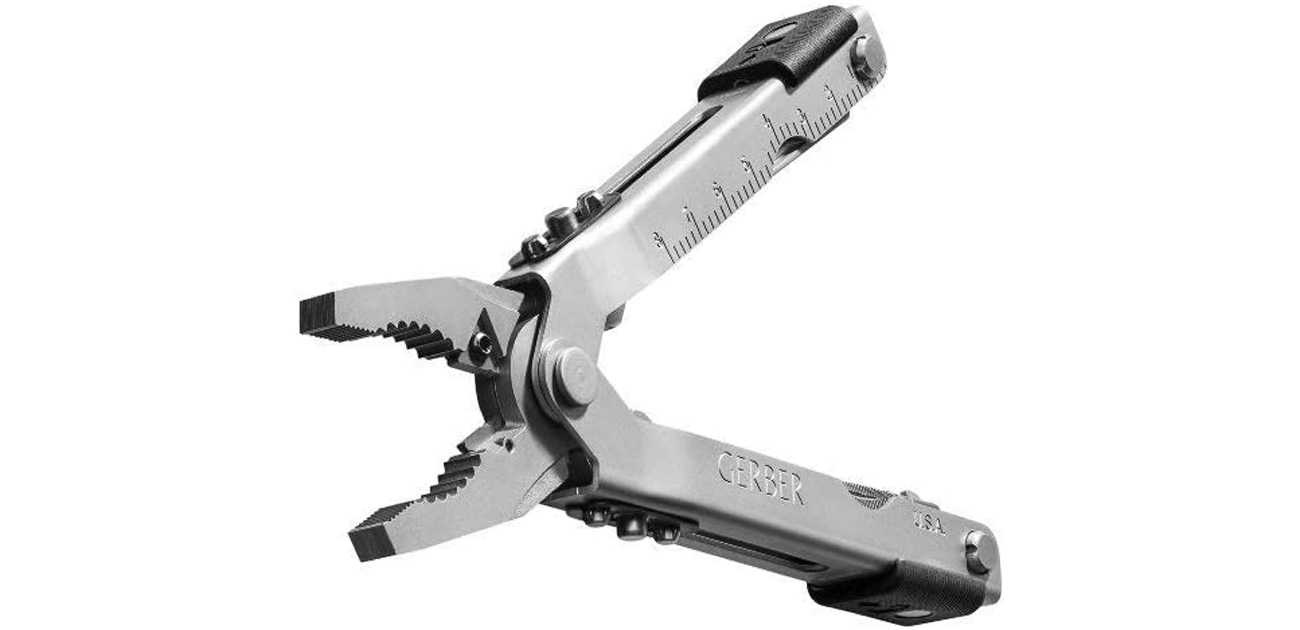 Multitool Gerber Gear MP600 Bluntnose kombinerki rozłożone