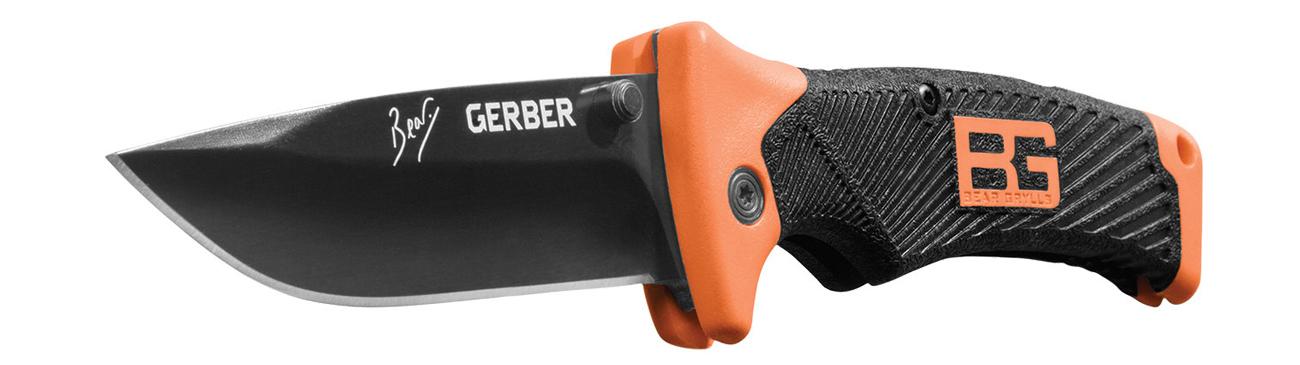 Nóż składany Gerber Gear Bear Grylls Survival Series, Folding Sheath Knife, FE,