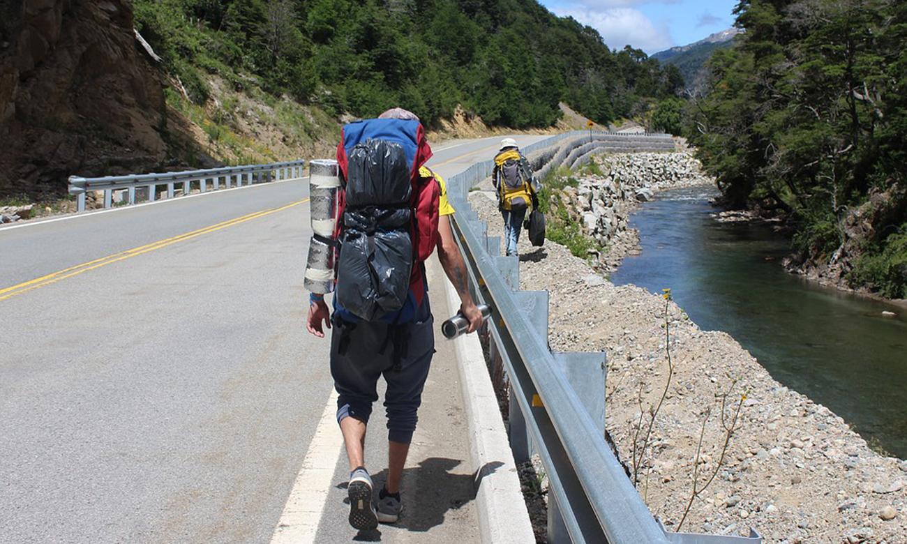 Trekking z plecakiem