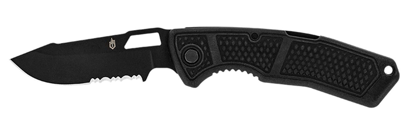Nóż składany Gerber Gear Order - Drop Point, Serrated, 420HC