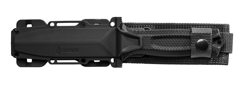 Nóż z głownią stałą Gerber Gear Strongarm w pochwie