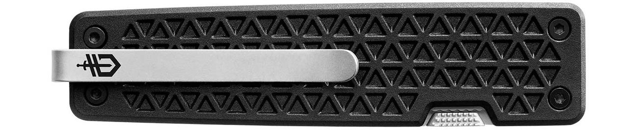 Złożony nóż składany Gerber Gear Pocket Square, Nylon z widocznym klipsem