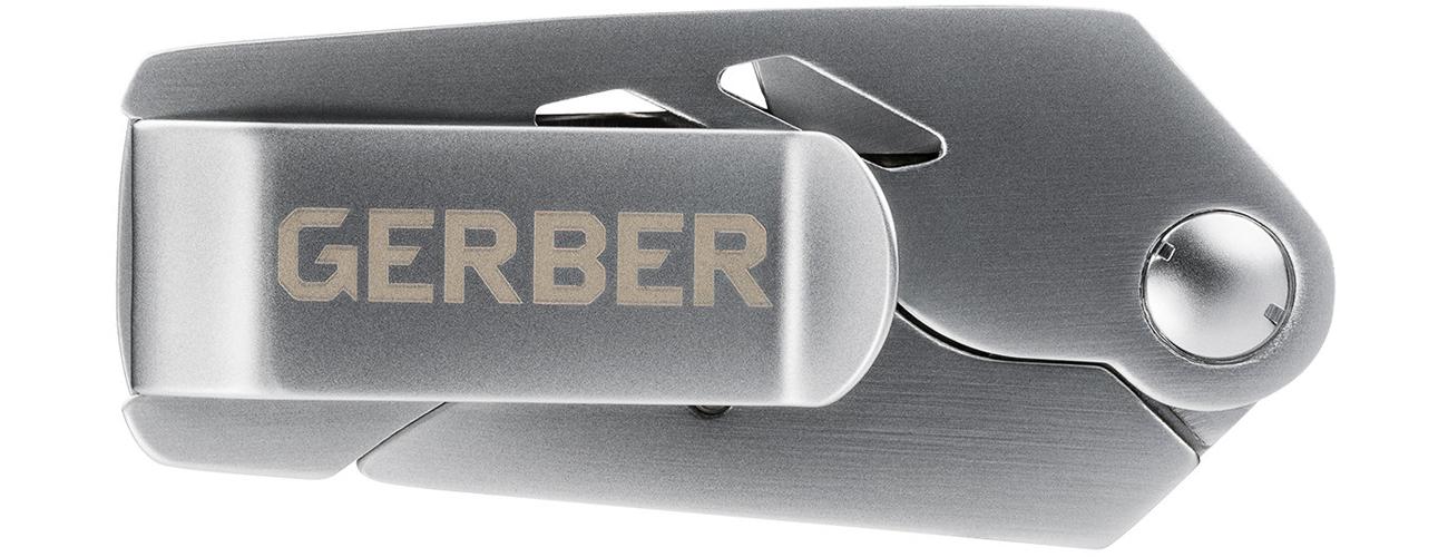 Nóż składany Gerber Gear EAB Lite - Fine Edge wraz z klipsem