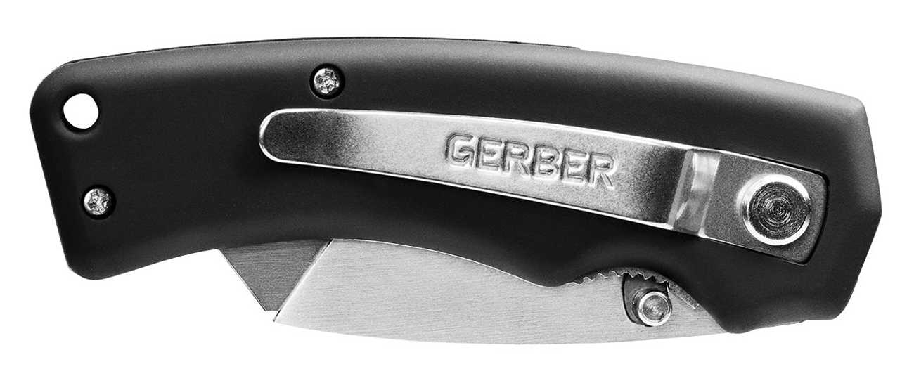 Złożony nóż Gerber Gear Edge Black Rubber Handle