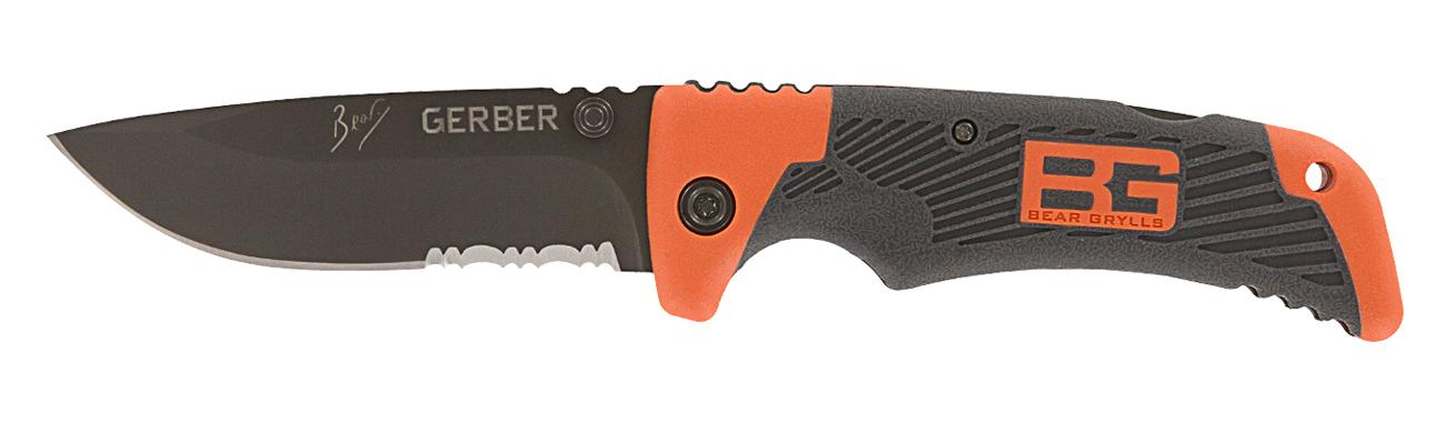 Nóż składany Gerber Gear Bear Grylls Scout