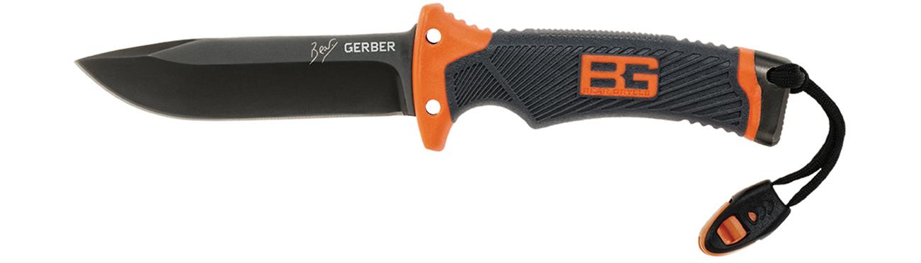 Nóż z głownią stałą Gerber Bear Grylls Compact Fixed Blade
