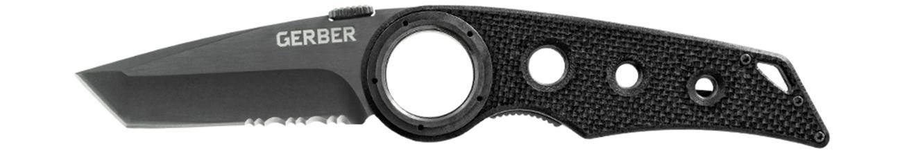 Nóż składany Gerber Gear Remix Tactical Clip Folder, Serrated Edge