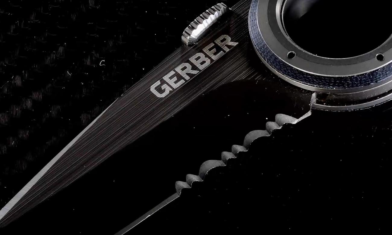 Ostrze noża składanego Gerber Gear Remix Tactical Clip Folder, Serrated Edge