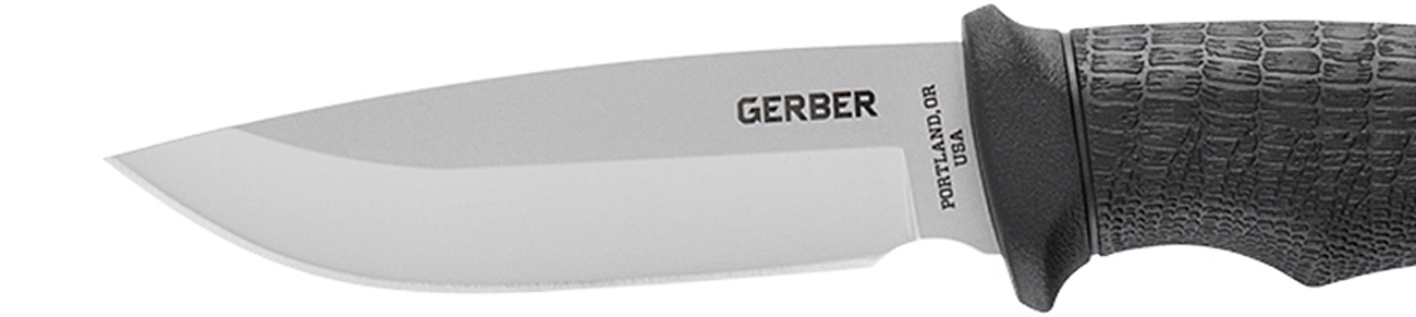 Nóż z głownią stałą Gerber Gear Gator Fixed - Drop point