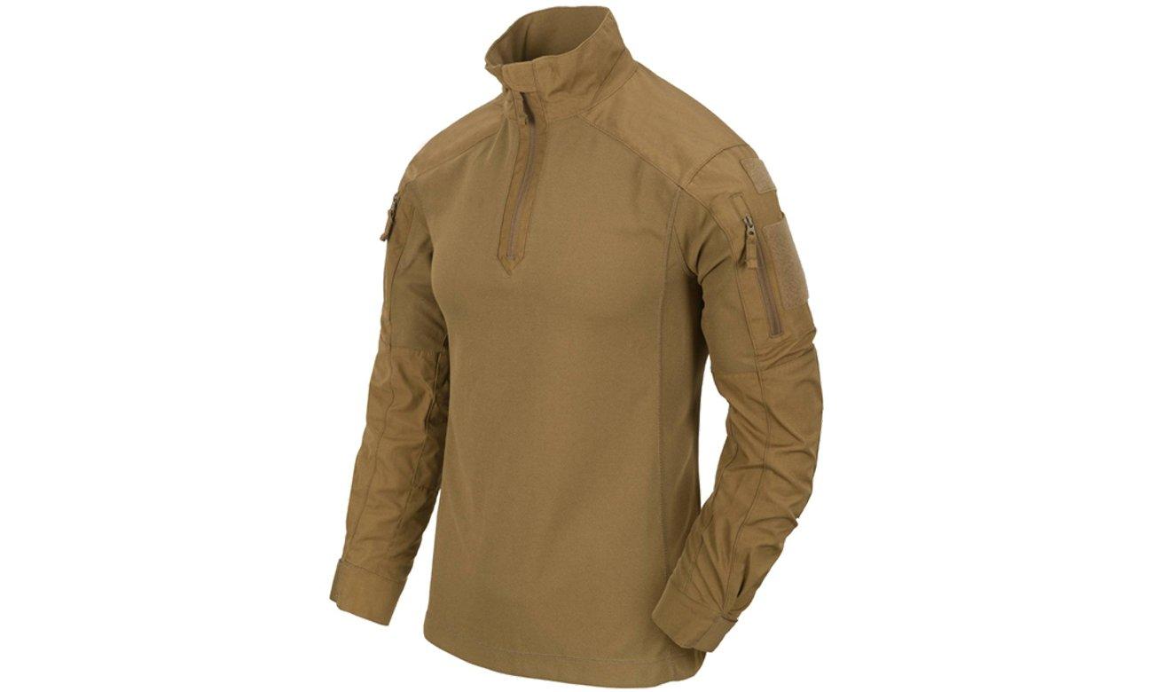 Bluza HELIKON MCDU Combat Shirt NyCo Ripstop Coyote prezentacja produktu