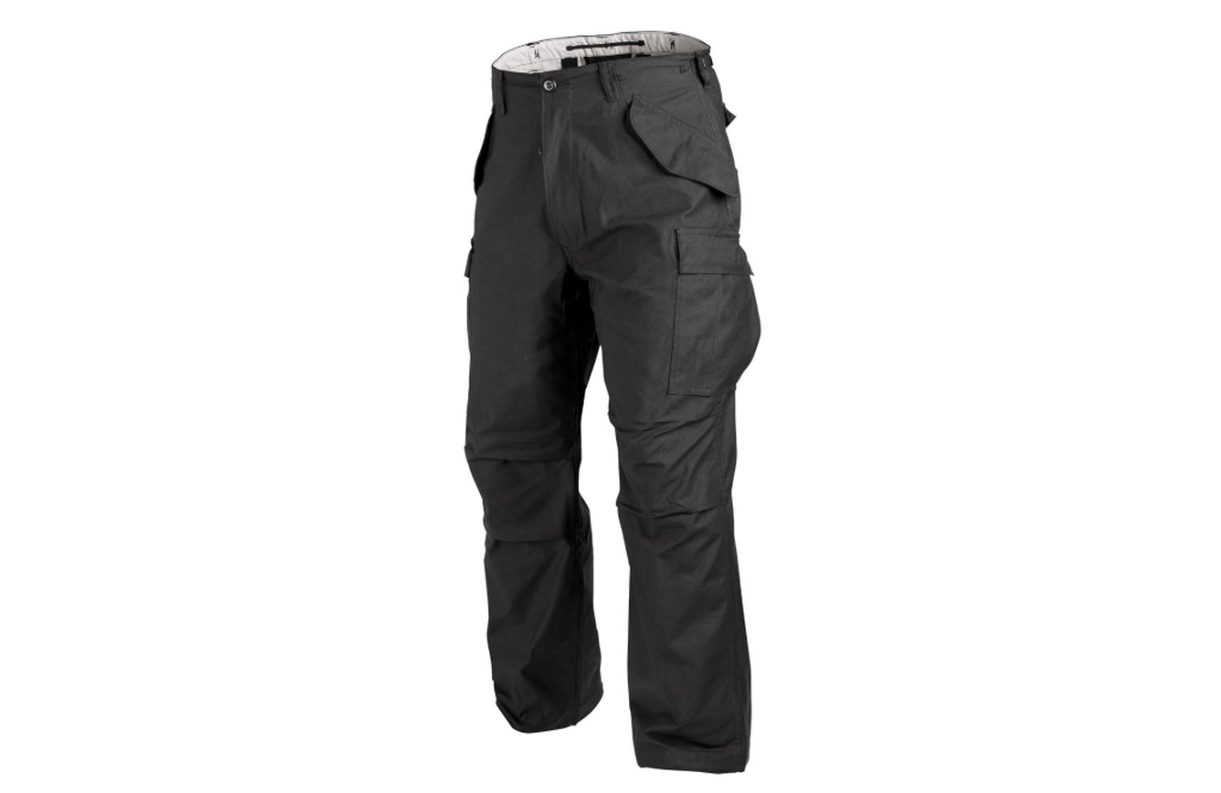 Spodnie Helikon M65 - Nyco Sateen - Czarne L/Regular