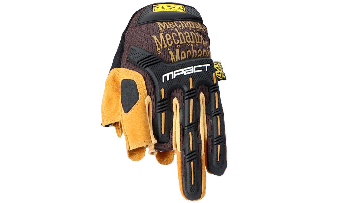 Rękawice Mechanix Wear Durahide M-Pact Framer Tan wierzch