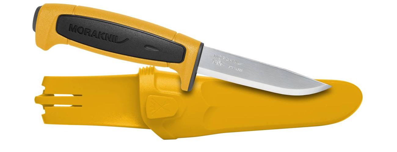 Nóż Morakniv BASIC 546 Limited Edition 2020 Żółty/Czarny bok