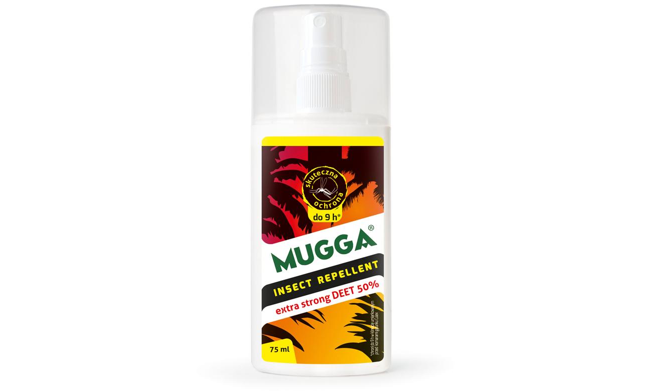 Repelent MUGGA DEET na komary tropikalne, europejskie oraz kleszcze