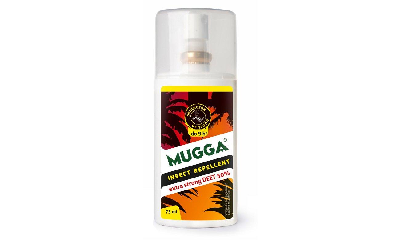 Spray na komary oraz kleszcze Mugga DEET