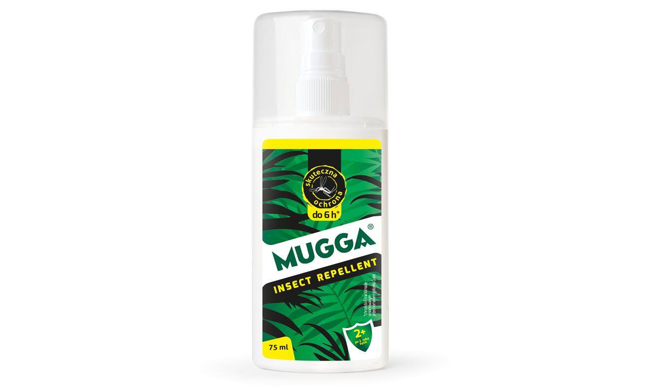 Spray na komary europejskie oraz kleszcze dla dzieci Mugga 9,5