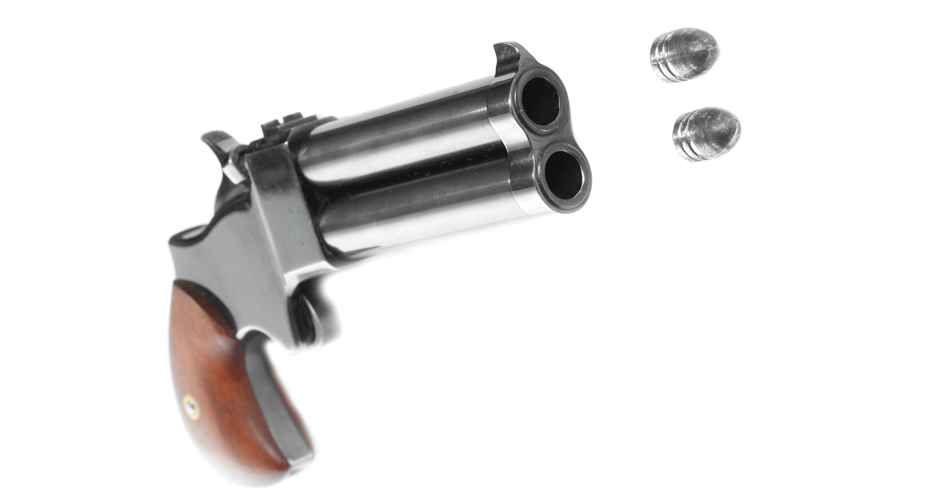 Derringer podczas strzału