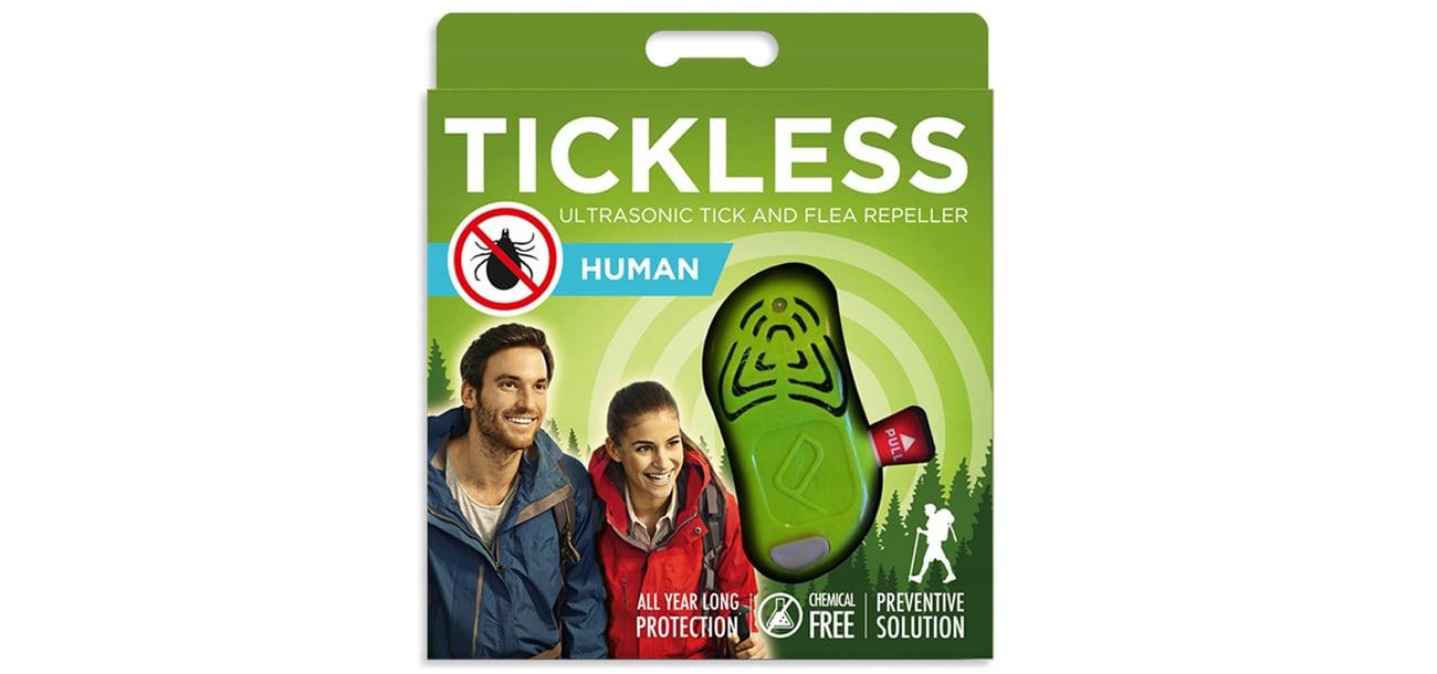 Odstraszacz ultradźwiękowy tickless Human Green