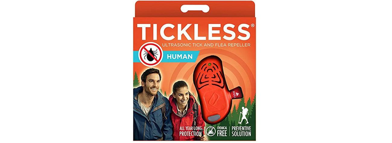 Odstraszacz ultradźwiękowy tickless Human Orange