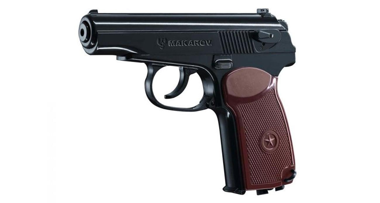 Wiatrówka pistolet Legends Makarov z wyciagniętym magazynkiem