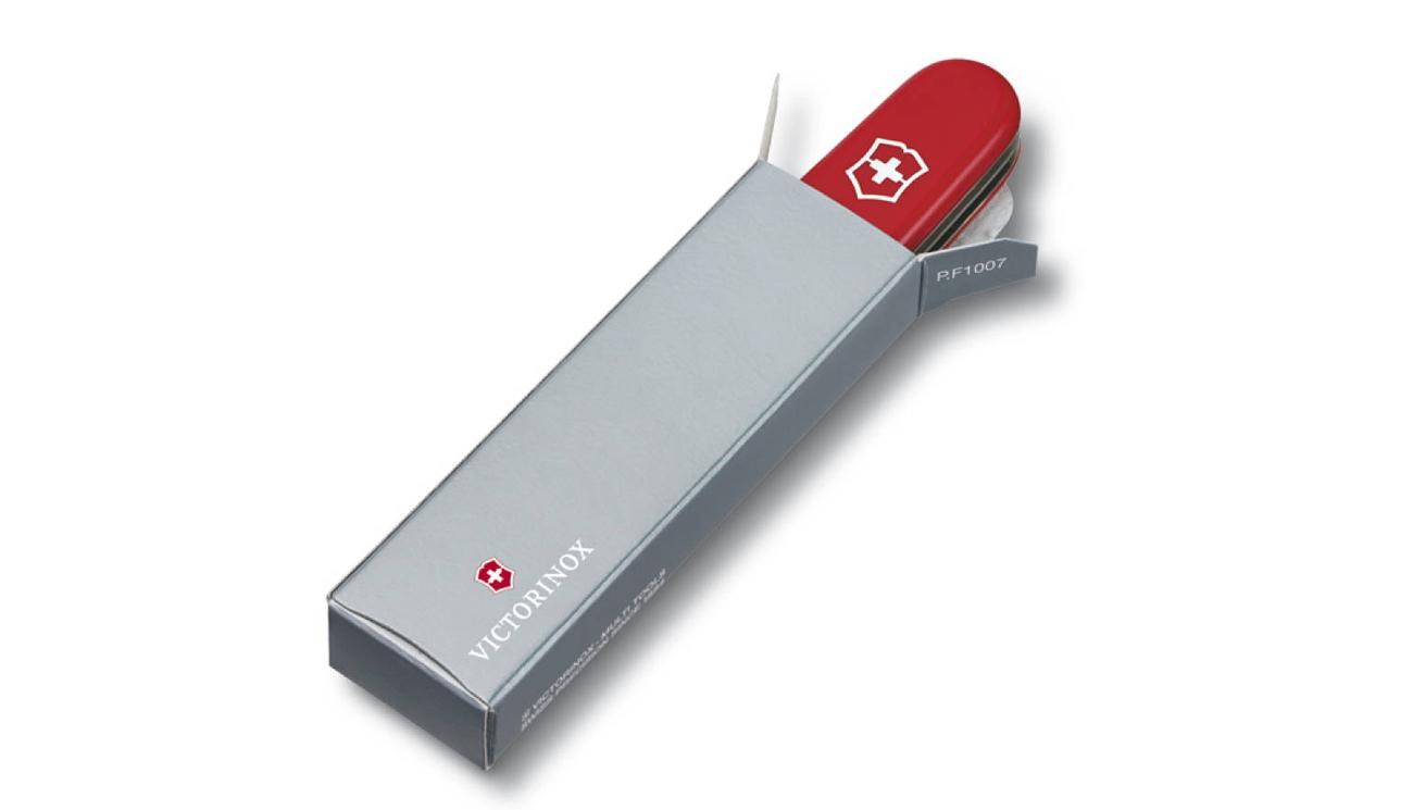 scyzoryk Bantam, 84mm, Celidor, czerwony