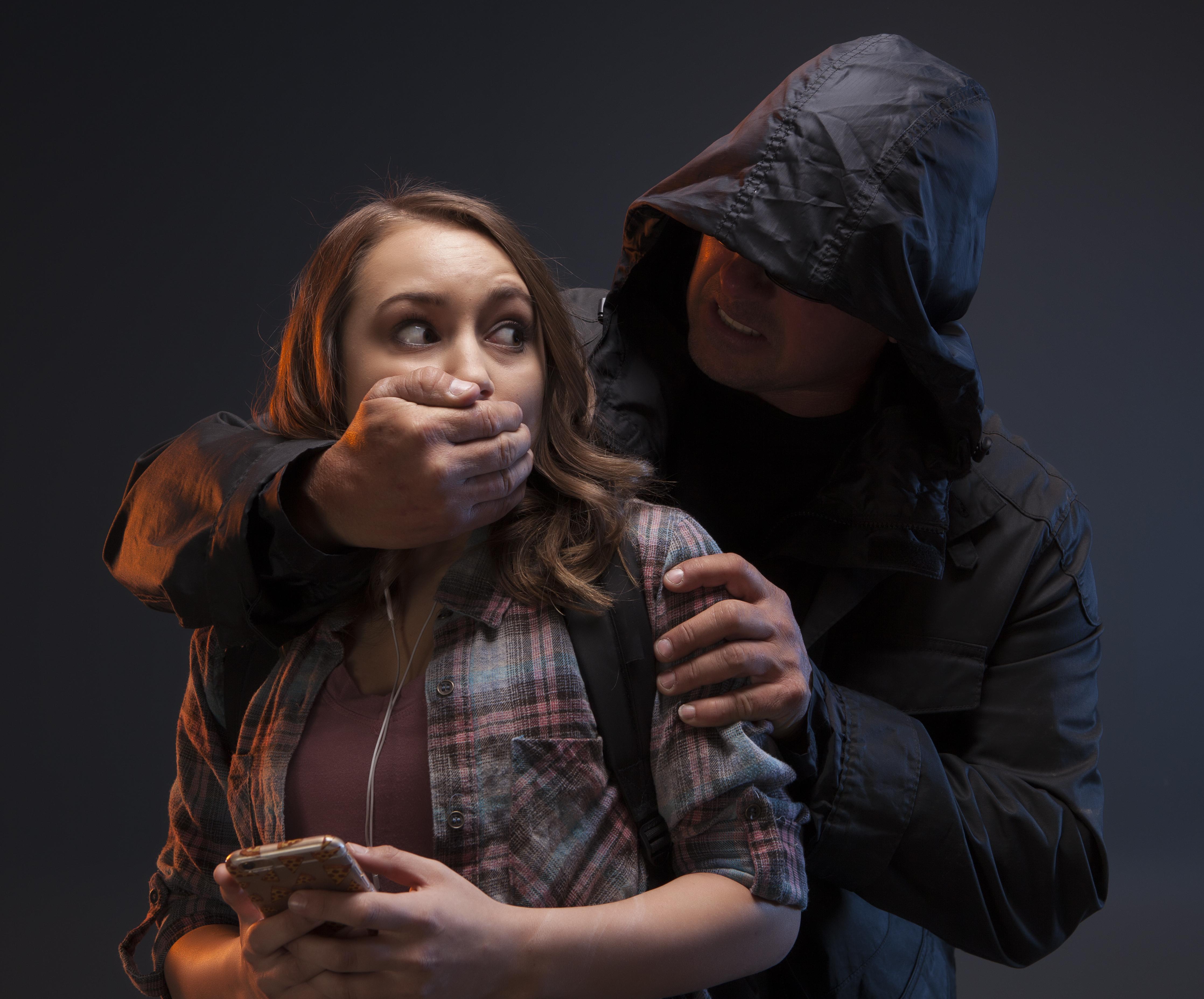 Brutalny atak na kobiete
