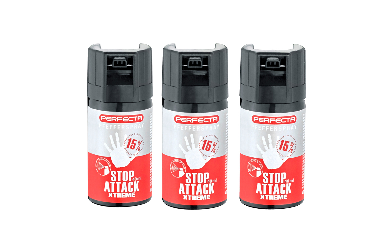 Gaz pieprzowy Umarex Perfecta Stop Attack EXTREME - stożek 40 ml